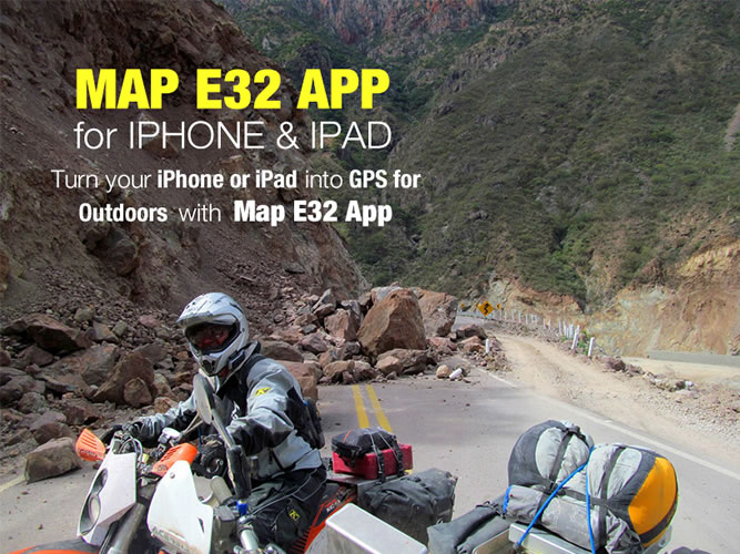 CARTOGRAFIA GPS :: MAP E32 : Topographical map for Garmin GPS devices