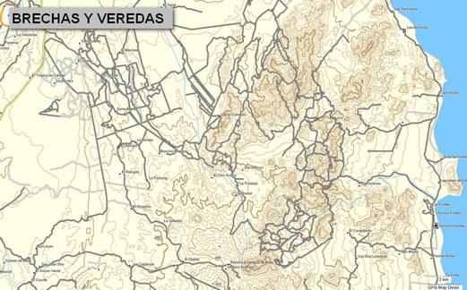 CARTOGRAFIA GPS MAP E Topographical Map For Garmin GPS Devices - Mapa california