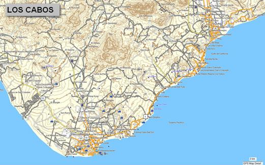 CARTOGRAFIA GPS MAP E Topographical Map For Garmin GPS Devices - Mapa de california