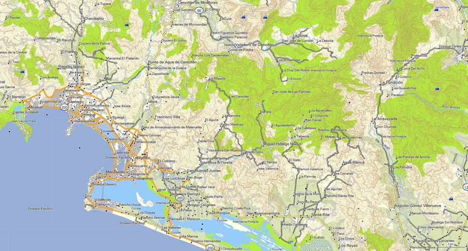 cartografia gps    map e32   topographical map for garmin