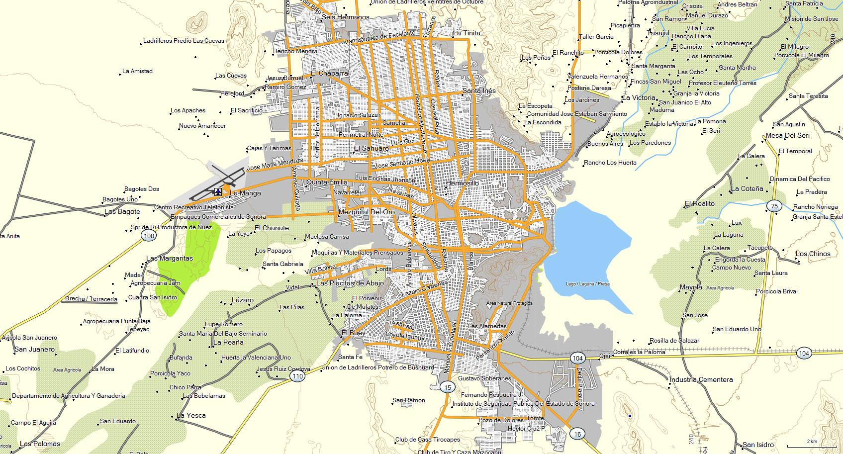 Mapa Topogr 225 Fico De Sonora M 233 Xico Para Gps Garmin